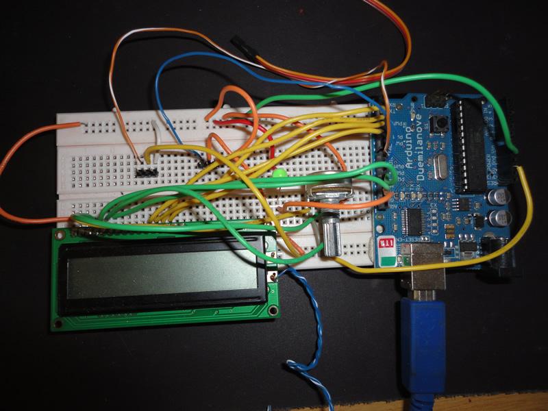 Arduino IPCam Circuit